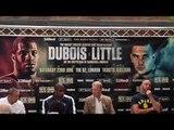 DANIEL DUBOIS v TOM LITTLE - OFFICIAL (COMPLETE) PRESS CONFERENCE W/ FRANK WARREN / DUBOIS v LITTLE