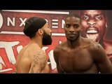 MOVE OVER!! LUKE WATKINS v LAWRENCE OKOLIE - OFFICIAL WEIGH IN & HEAD TO HEAD / WATKINS v OKOLIE