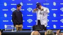 San Diego Padres introduce Manny Machado