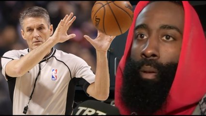 "James Harden SLAMS ""Rude & Arrogant"" Ref Scott Foster! ""Shouldn't Be Able To Officiate Our Games"""