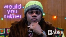 Gunna chooses drip over drown, Vlone over Off-White & more | 'Would You Rather' Season 2 Episode 1