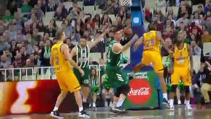 EuroLeague 2018-19 Highlights Regular Season Round 23 video: Panathinaikos 94-85 Khimki