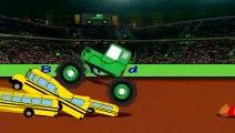 Monster Truck Cascades Tracteur Puzzle - Traktorek