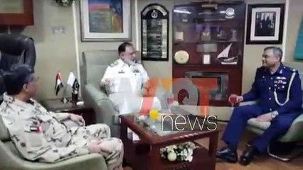 پاک بحریہ کے جہازوں پی این ایس طارق اور پی این ایس ہمت کا متحدہ عرب امارات کا دورہ۔ترجمان پاک بحریہ