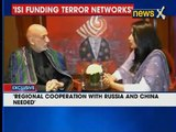 Former Afghan President Hamid Karzai speaks exclusively to NewsX
