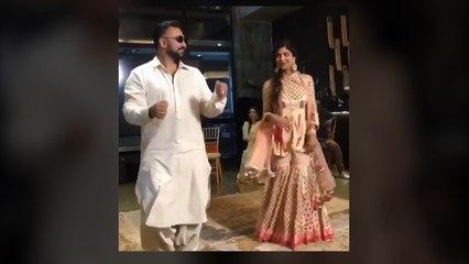 Shilpa Shetty and Raj Kundra groove to the tunes of 'Lamberghini' at a Sangeet