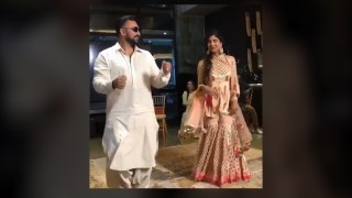 Shilpa Shetty and Raj Kundra groove to the tunes of 'Lamberghini' at a Sangeet