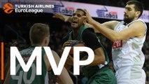 Turkish Airlines EuroLeague Regular Season Round 23 MVP: Brandon Davies, Zalgiris Kaunas