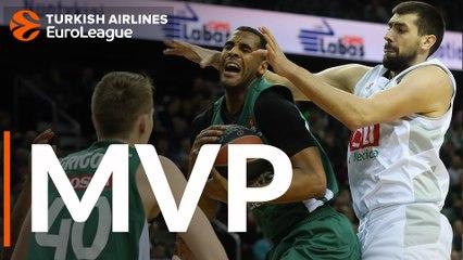 Round 23 MVP: Brandon Davies, Zalgiris Kaunas