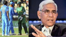 ICC Cricket World Cup 2019 : BCCI To Consult Govt On Pak World Cup Tie Says Vinod Rai   Oneindia