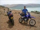 Vacance en moto au bled