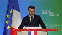 """""""Nous pouvons faire du vignoble français le premier vignoble sans glyphosate du monde"""" (E.Macron)"""