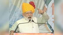 Our fight is for Kashmiris, not against them: PM Modi in Tonk | Oneindia News