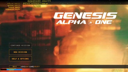 Jump in: Genesis Alpha One #1