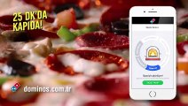 Domino's Sıcak Takip İle Siparişinin Eve Gelişini Canlı İzle! -Domino's Yeni Reklam Filmi