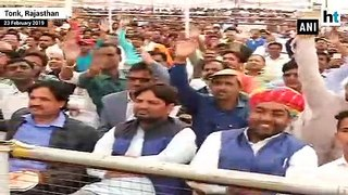 Our fight is against terrorism, not Kashmir: PM Modi in Rajasthan