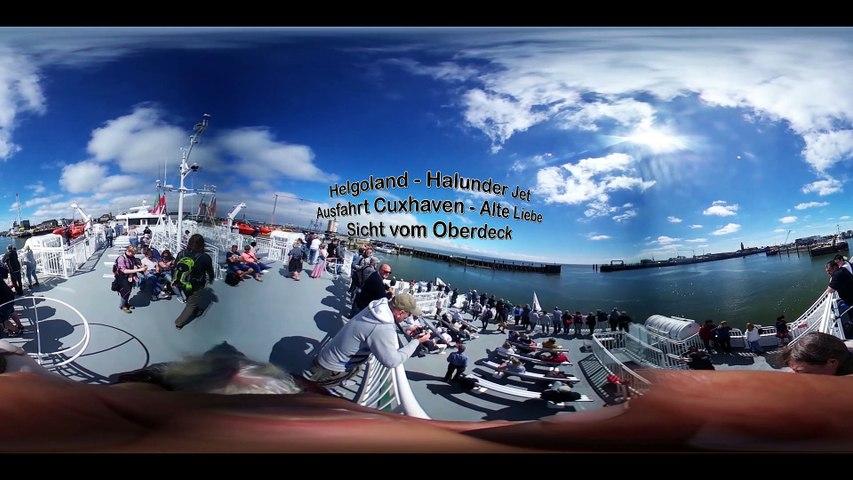 Helgoland: Halunder Jet Cuxhaven 360 Grad Video