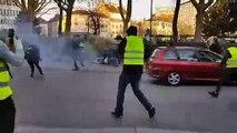 Dijon : lors de l'acte XV des gilets jaunes, de nouveaux affrontements autour de la place de la République