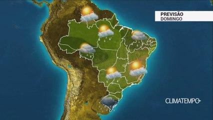 Previsão Brasil – Frente fria avança no Sul