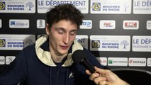 "ATP - Marseille - Ugo Humbert :  ""Je suis satisfait de ma semaine"""