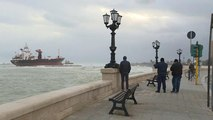 Hurricane Bora hits Italian and Croatian coasts