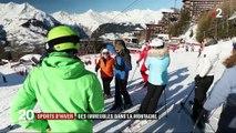 Sports d'hiver : des immeubles dans la montagne