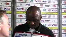 Après le match Amiens SC - OGC Nice,  Patrick Vieira