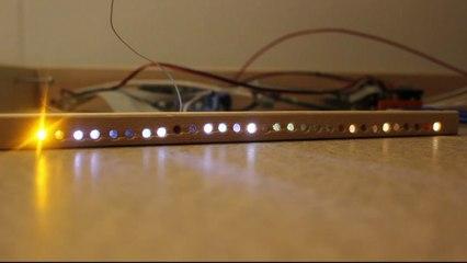 Sternenhimmel - Funktion der LED-Leiste für die Sternenbeleuchtung
