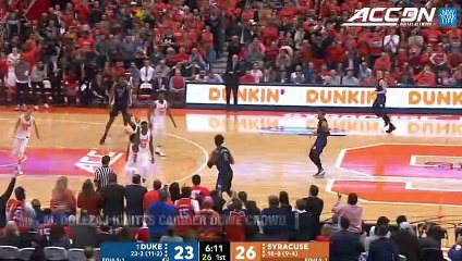 Syracuse's Marek Dolezaj Ignites Carrier Dome With 2 Plays