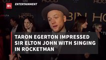 Elton John Approves Of Taron Egerton Playing Him