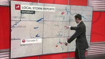 Flood threat persists in Tennessee Valley while severe storms diminish in the Southeast