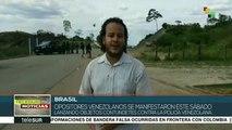 Calma en la frontera de Venezuela con Brasil tras intentona golpista