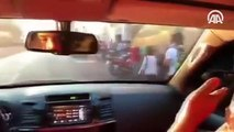 Maduro kullandığı araçla Caracas'ı gezip ABD'ye mesaj verdi
