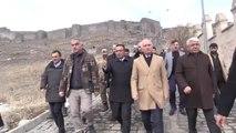 """Bakan Ersoy: """"Cıbıltepe, Avrupa ile Yarışabilecek Bir Kayak Merkezi"""" - Kars"""