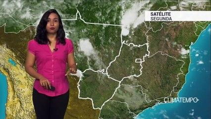 Previsão Centro-Oeste – Pancadas de chuva