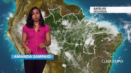 Previsão Norte – Chuva frequente em Palmas