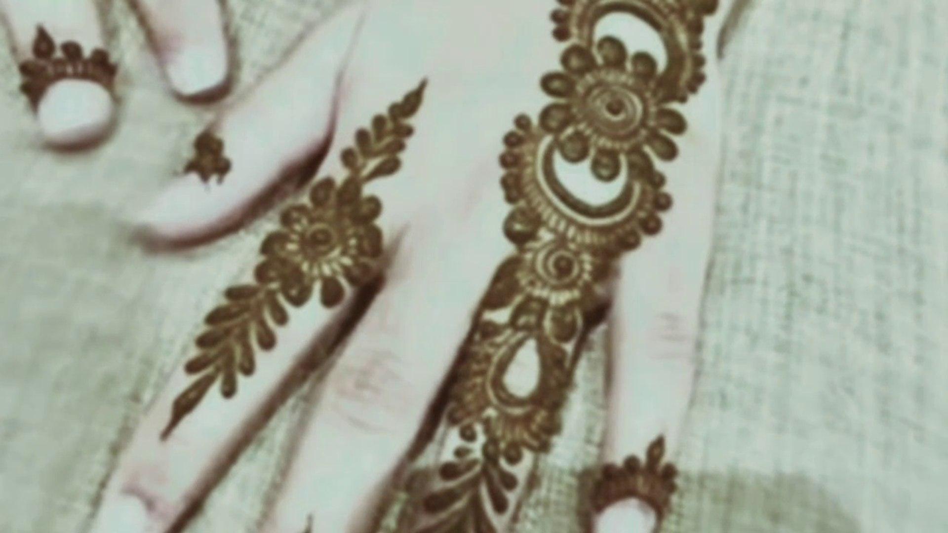 Latest Arabic Mehndi Design for back hand ll mehndi design ll stylish  mehndi design By MMP