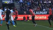 Rennes 1-1 Marseille - les Buts - 24.02.2019 ᴴᴰ