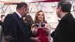 Kad Merad & Didier Allouch Interviewent Marina de Tavira   - Oscars 2019