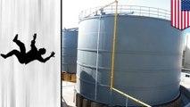 硫酸の貯蔵タンクに転落 男性作業員が死亡 - トモニュース