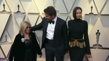 Oscars 2019: Bradley Cooper arrives with mum and girlfriend