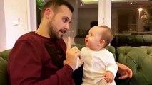 Ümit Erdim'in kızı Ses ile eğlenceli anları izleyenleri güldürdü
