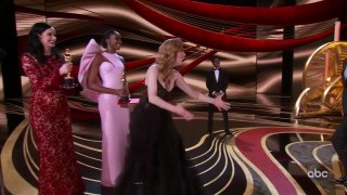 SKIN Accepts the Oscar for Short Film (Live Action)
