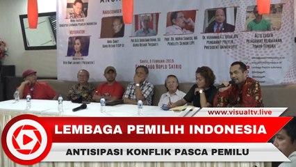LPI Ajak Institusi Kemanan Negara, Waspadai Konflik Pasca Pemilu 2019