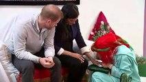 Duchess of Sussex shows cute little girls her henna tattoo