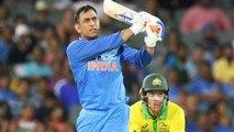 India Vs Australia 2019,T20I : MS Dhoni Trolled After India Lost T20 Over Australia  Oneindia Telugu