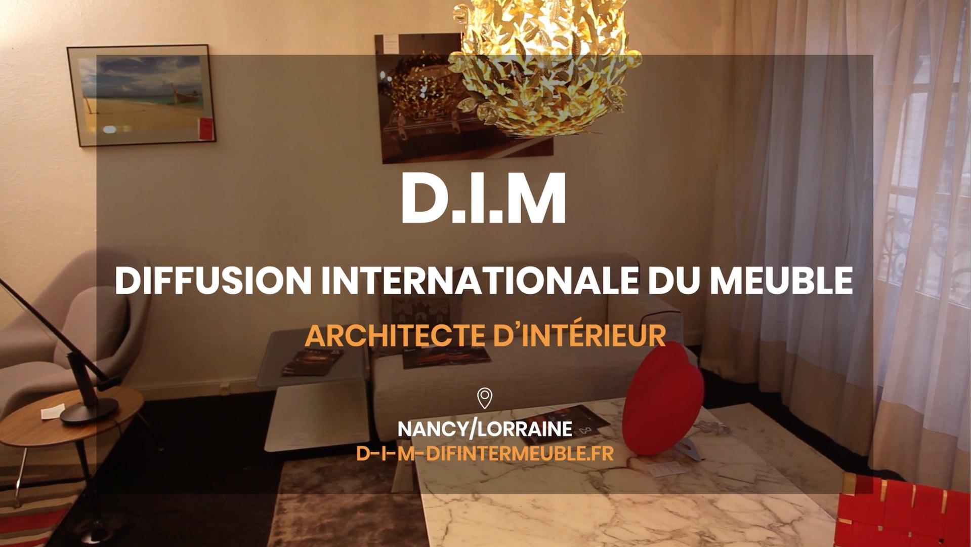 Architecte D Intérieur Auray d.i.m, diffusion internationale du meuble - mobilier contemporain,  architecte d'intérieur à nancy