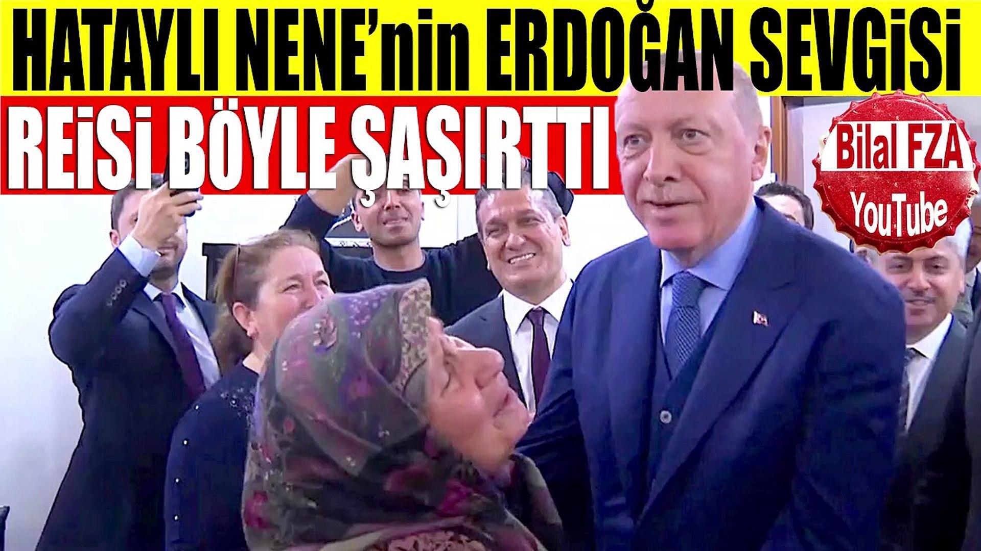 Erdoğan Hatayda Kahve İçecem Dedi Çat Kapı Ev Ziyareti Aileyi Böyle Şaşırttı Samimi Reis Sevgisi