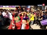 रथ-बग्घियों के साथ चल समारोह में नाचते-गाते निकले देशभर के किन्नर, देखने उमड़ी भीड़-Transgender mhakumbh ceremony with chariots and chariots in mandsaur