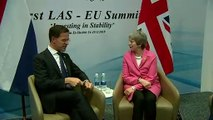 Theresa May meets Dutch PM Mark Rutte amid Brexit stalemate